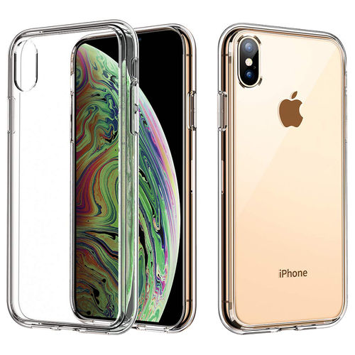 Flexi Slim Gel Case for Apple iPhone Xs Max - Clear (Gloss Grip)